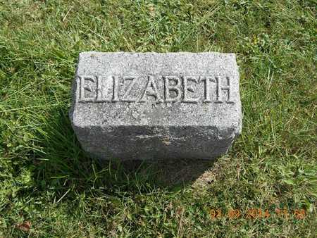 KNICKERBOCKER, ELIZABETH - Calhoun County, Michigan | ELIZABETH KNICKERBOCKER - Michigan Gravestone Photos