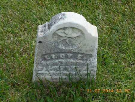 KNICKERBOCKER, LUCY E. - Calhoun County, Michigan | LUCY E. KNICKERBOCKER - Michigan Gravestone Photos