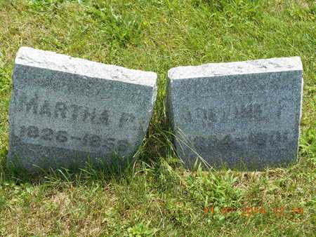 KNICKERBOCKER, MARTHA P. - Calhoun County, Michigan | MARTHA P. KNICKERBOCKER - Michigan Gravestone Photos