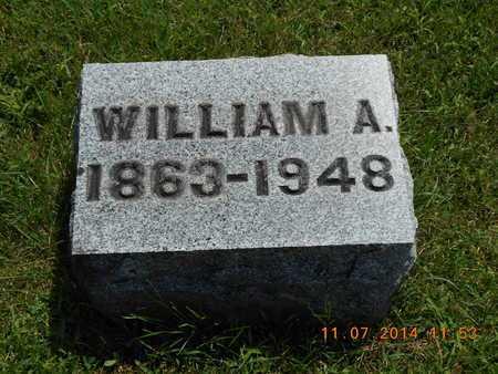 KNICKERBOCKER, WILLIAM A. - Calhoun County, Michigan | WILLIAM A. KNICKERBOCKER - Michigan Gravestone Photos
