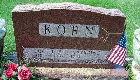 KORN, LUCILLE - Calhoun County, Michigan   LUCILLE KORN - Michigan Gravestone Photos