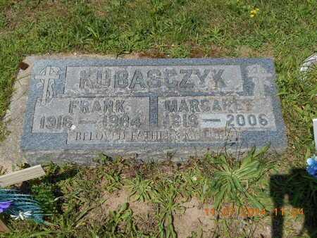 KUBASCZYK, FRANK - Calhoun County, Michigan | FRANK KUBASCZYK - Michigan Gravestone Photos