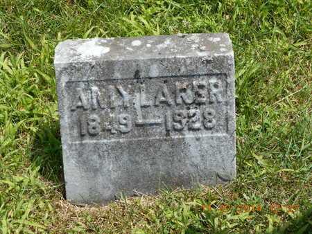 LAKER, AMY - Calhoun County, Michigan | AMY LAKER - Michigan Gravestone Photos