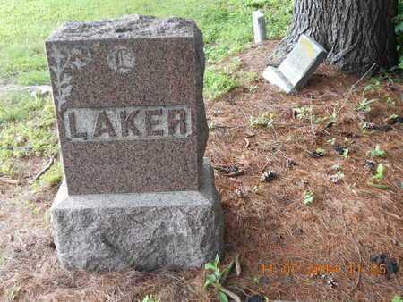 LAKER, FAMILY - Calhoun County, Michigan | FAMILY LAKER - Michigan Gravestone Photos