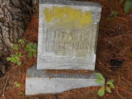 LAKER, IDA I. - Calhoun County, Michigan   IDA I. LAKER - Michigan Gravestone Photos