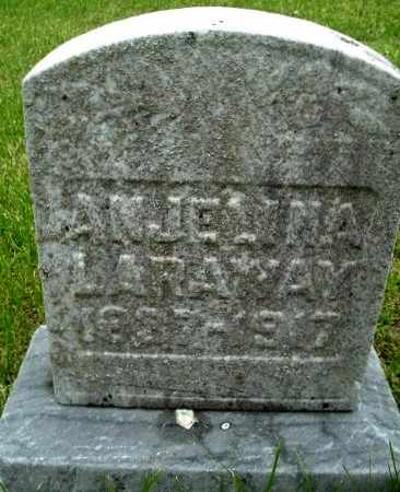 LARAWAY, ANJELINA - Calhoun County, Michigan | ANJELINA LARAWAY - Michigan Gravestone Photos