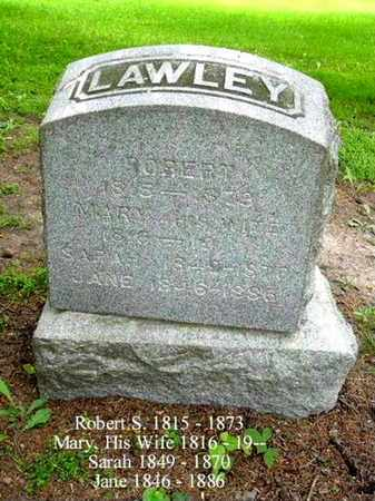 LAWLEY, ROBERT - Calhoun County, Michigan | ROBERT LAWLEY - Michigan Gravestone Photos