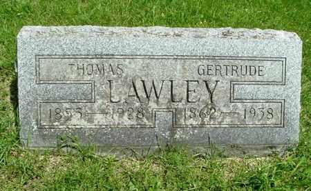LAWLEY, THOMAS - Calhoun County, Michigan | THOMAS LAWLEY - Michigan Gravestone Photos