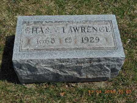 LAWRENCE, CHARLES V. - Calhoun County, Michigan | CHARLES V. LAWRENCE - Michigan Gravestone Photos