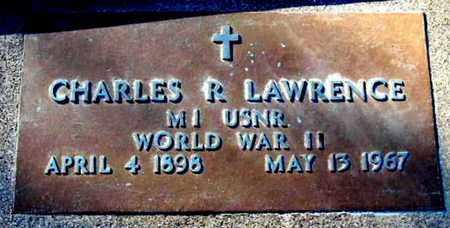 LAWRENCE, CHARLES R - Calhoun County, Michigan | CHARLES R LAWRENCE - Michigan Gravestone Photos