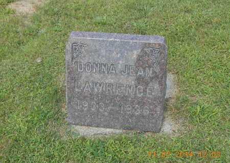 LAWRENCE, DONNA JEAN - Calhoun County, Michigan | DONNA JEAN LAWRENCE - Michigan Gravestone Photos