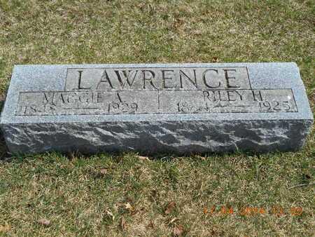 LAWRENCE, RILEY H. - Calhoun County, Michigan | RILEY H. LAWRENCE - Michigan Gravestone Photos