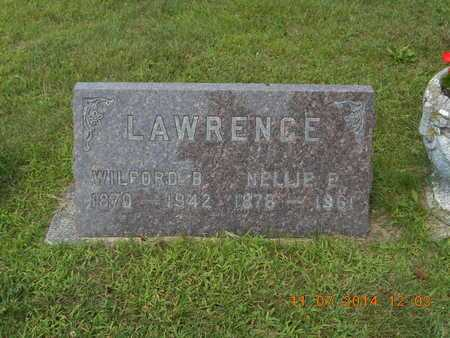 LAWRENCE, NELLIE E. - Calhoun County, Michigan | NELLIE E. LAWRENCE - Michigan Gravestone Photos