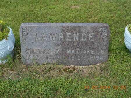 LAWRENCE, MARGARET M. - Calhoun County, Michigan | MARGARET M. LAWRENCE - Michigan Gravestone Photos
