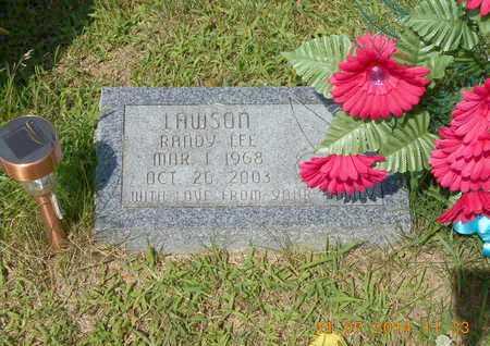 LAWSON, RANDY LEE - Calhoun County, Michigan | RANDY LEE LAWSON - Michigan Gravestone Photos