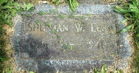 LEHR, SHERMAN - Calhoun County, Michigan | SHERMAN LEHR - Michigan Gravestone Photos