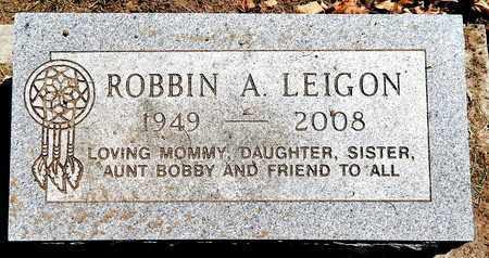 LEIGON, ROBBIN A - Calhoun County, Michigan   ROBBIN A LEIGON - Michigan Gravestone Photos