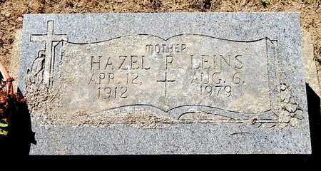 LEINS, HAZEL - Calhoun County, Michigan | HAZEL LEINS - Michigan Gravestone Photos