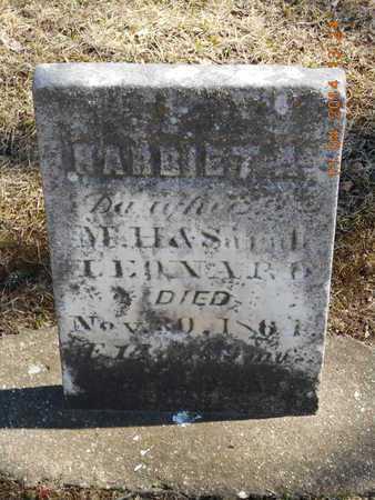 LEONARD, HARRIET A. - Calhoun County, Michigan | HARRIET A. LEONARD - Michigan Gravestone Photos