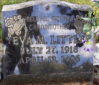 LITTLE, EVA M - Calhoun County, Michigan | EVA M LITTLE - Michigan Gravestone Photos