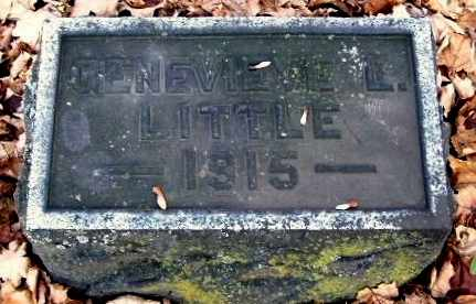 LITTLE, GENEVIEVE - Calhoun County, Michigan | GENEVIEVE LITTLE - Michigan Gravestone Photos