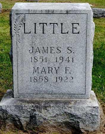 LITTLE, MARY F - Calhoun County, Michigan | MARY F LITTLE - Michigan Gravestone Photos