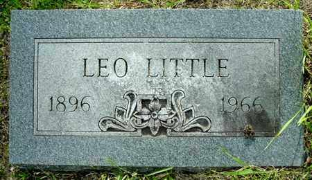 LITTLE, LEO - Calhoun County, Michigan | LEO LITTLE - Michigan Gravestone Photos
