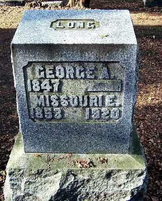 LONG, GEORGE A - Calhoun County, Michigan | GEORGE A LONG - Michigan Gravestone Photos