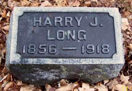 LONG, HARRY J - Calhoun County, Michigan   HARRY J LONG - Michigan Gravestone Photos