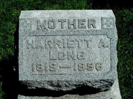 LONG, HARRIETT A. - Calhoun County, Michigan | HARRIETT A. LONG - Michigan Gravestone Photos