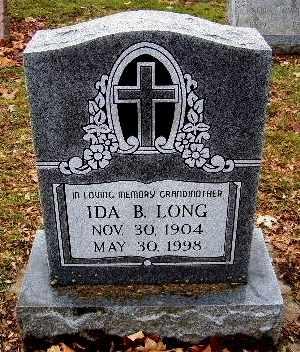 LONG, IDA B - Calhoun County, Michigan | IDA B LONG - Michigan Gravestone Photos