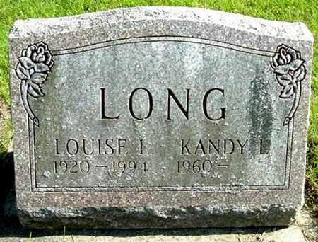 LONG, LOUISE L - Calhoun County, Michigan | LOUISE L LONG - Michigan Gravestone Photos