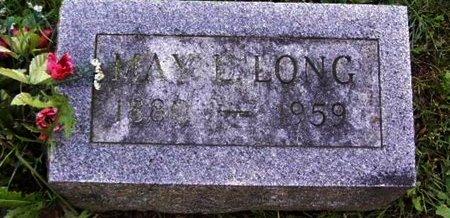 LONG, MAY - Calhoun County, Michigan | MAY LONG - Michigan Gravestone Photos