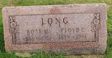 LONG, ROSE M - Calhoun County, Michigan | ROSE M LONG - Michigan Gravestone Photos