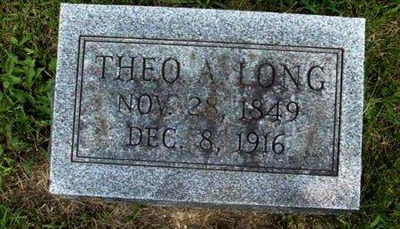 LONG, THEO - Calhoun County, Michigan | THEO LONG - Michigan Gravestone Photos