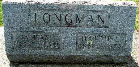 LONGMAN, HATTIE - Calhoun County, Michigan | HATTIE LONGMAN - Michigan Gravestone Photos