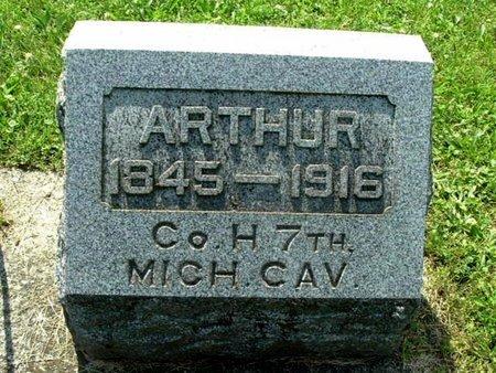 LONGMAN, ARTHUR - Calhoun County, Michigan | ARTHUR LONGMAN - Michigan Gravestone Photos