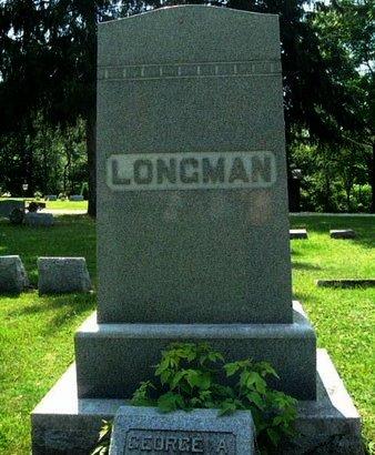 LONGMAN, FAMILY MARKER - Calhoun County, Michigan | FAMILY MARKER LONGMAN - Michigan Gravestone Photos