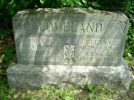 LOVELAND, GLENN E. - Calhoun County, Michigan | GLENN E. LOVELAND - Michigan Gravestone Photos