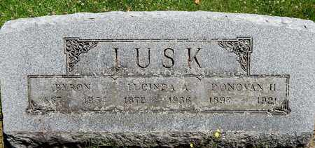 LUSK, LUCINDA - Calhoun County, Michigan | LUCINDA LUSK - Michigan Gravestone Photos