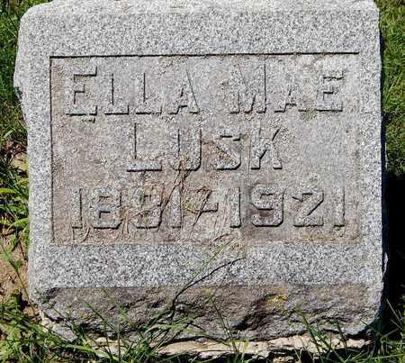 LUSK, ELLA MAE - Calhoun County, Michigan | ELLA MAE LUSK - Michigan Gravestone Photos