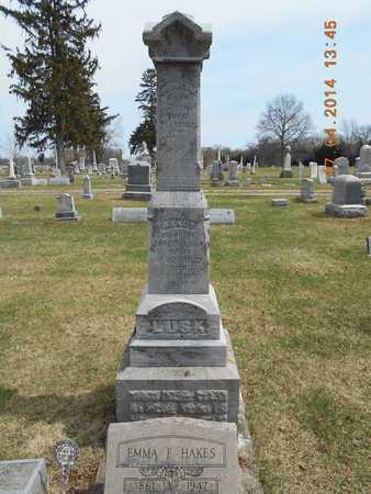 LUSK, FAMILY - Calhoun County, Michigan | FAMILY LUSK - Michigan Gravestone Photos