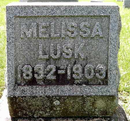 LUSK, MELISSA - Calhoun County, Michigan | MELISSA LUSK - Michigan Gravestone Photos