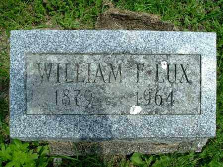 LUX, WILLIAM - Calhoun County, Michigan | WILLIAM LUX - Michigan Gravestone Photos