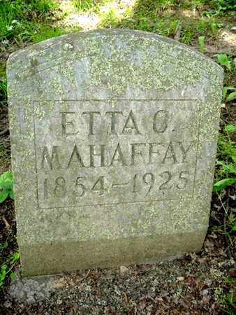 MAHFFAY, ETTA - Calhoun County, Michigan | ETTA MAHFFAY - Michigan Gravestone Photos