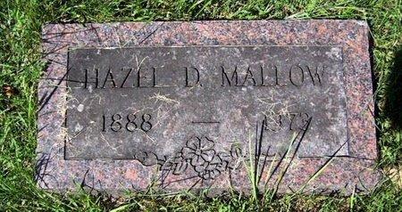 MALLOW, HAZEL - Calhoun County, Michigan | HAZEL MALLOW - Michigan Gravestone Photos