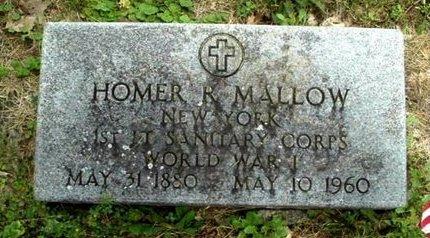 MALLOW, HOMER R - Calhoun County, Michigan   HOMER R MALLOW - Michigan Gravestone Photos