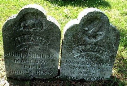 MALLOW, INFANT DAUGHTER - Calhoun County, Michigan | INFANT DAUGHTER MALLOW - Michigan Gravestone Photos