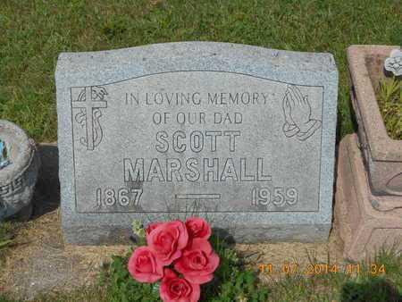 MARSHALL, SCOTT - Calhoun County, Michigan | SCOTT MARSHALL - Michigan Gravestone Photos