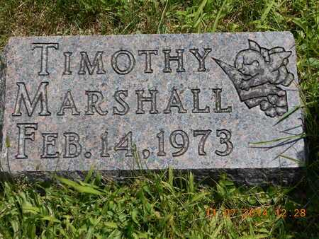 MARSHALL, TIMOTHY - Calhoun County, Michigan | TIMOTHY MARSHALL - Michigan Gravestone Photos